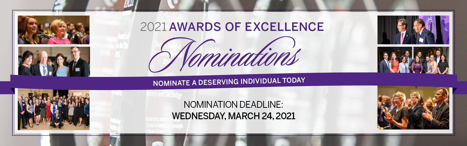 Awards of Excellence Nominations